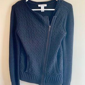 White House Black Market Zippered Sweater